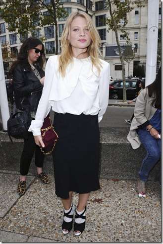 Melanie Laurent Alexa Chung attends Miu Miu njnw_tfCuw0l