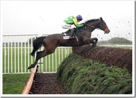 16 March Kauto jumping