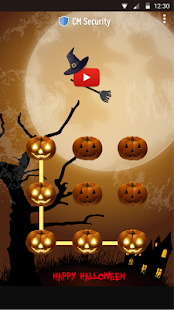 Free Halloween CM Security Theme APK for Windows 8