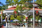 Christmas Decorations In The Capital City of Charlotte Amalie - St. Thomas, USVI