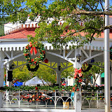 Christmas Decorations In The Capital City of Charlotte Amalie - St. Thomas, USVI