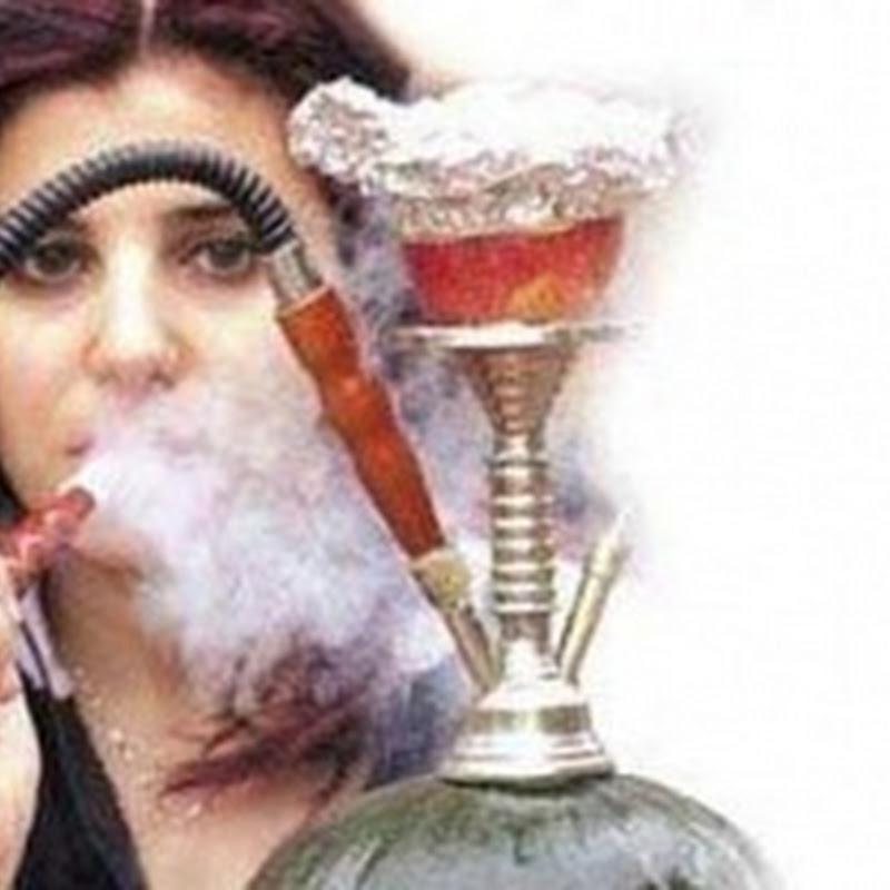 تدخين الشيشة لساعة = 100 سيجارة