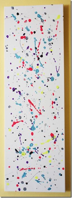Splatter Glitter