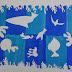 Das Meer nach Henri Matisse, Papierschnittmontage Jg. 5