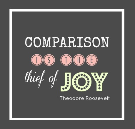 Comparison is...