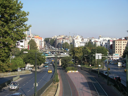 Autostrada Turcia: intrarea in Laleli Istanbul