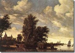 800px-Salomon_van_Ruysdael_-_The_Ferry_Boat_-_WGA20564