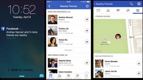 Facebook lanza Nearby Friends para compartir tu ubicación con tus amigos