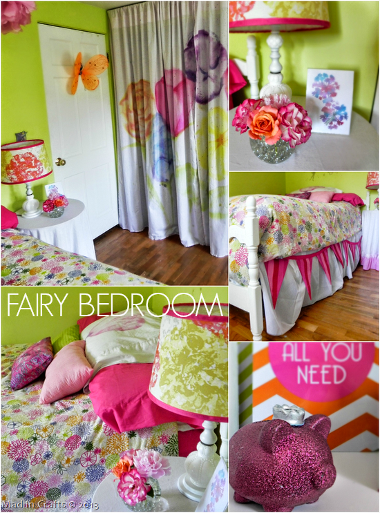 FAIRY GARDEN BEDROOM - MAD IN CRAFTS