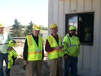 Councilman Fred Stark, Councilman Bob Shellmyer, Plant Superintendent Fred Doggett