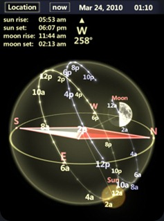 Star Tracker : Free Sun & Moon Compass for iPhone