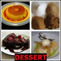 DESSERT- Whats The Word Answers