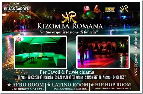 Black Garden 2012 - Serate Afrolatin Roma
