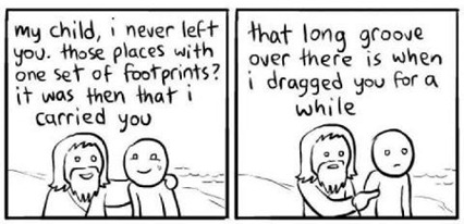 Footprints with Jesus