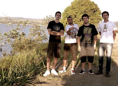Rodolfo Bandeira, André Oliveira, Dorfo Altvater e Antônio Altvater
