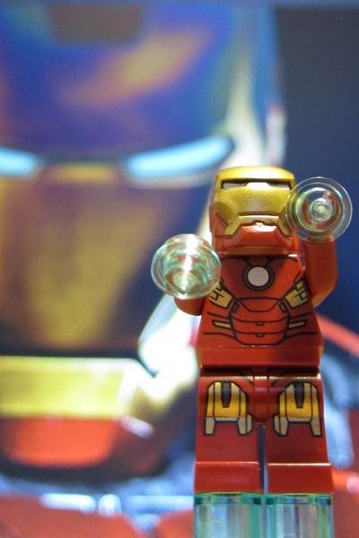 Ironman Avengers Minifig Lego