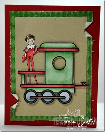 Elf Blog Hop Teresa