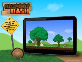 Screenshot of Bigfoot Dash