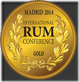 2014-Gold-III Congreso Internacional del Ron de Madrid