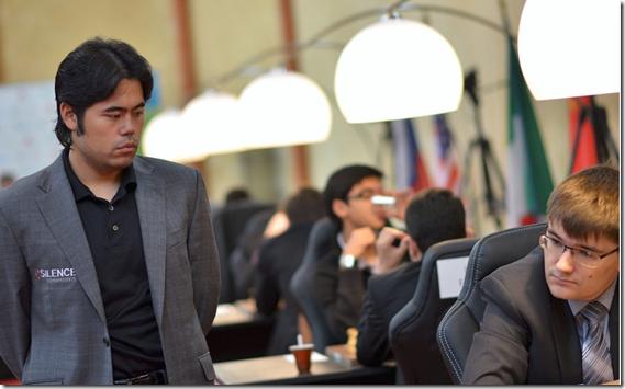 Hikaru Nakamura leads at Tashkent after round 8 FIDE GP 2013