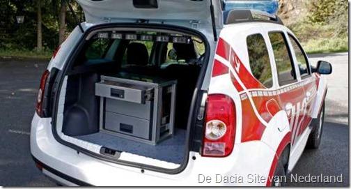 Dacia Duster als brandweer 11