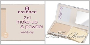 2 in 1 Make-up & powder - 30 soft sand fertig