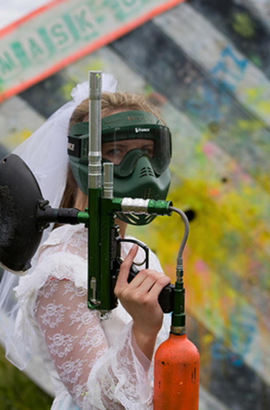 The Paintball Bride 4