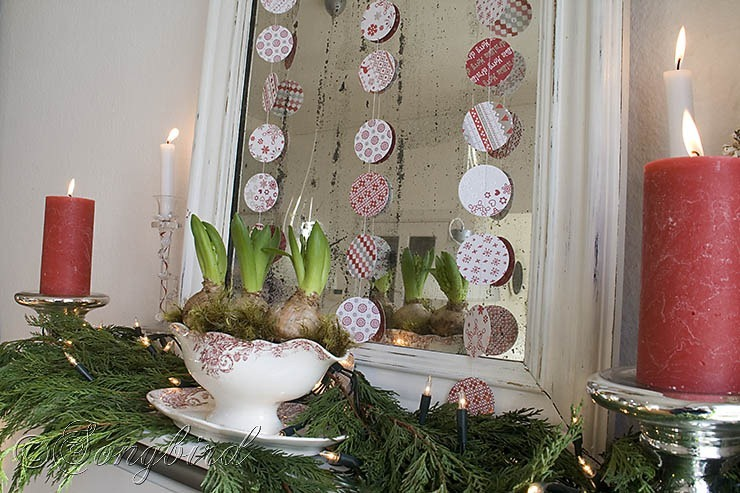 Songbird Christmas Mantel Decor 3