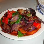 eggplant at bangkok thai cuisine in newmarket canada in Toronto, Ontario, Canada