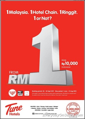 Tune-Hotels-for-RM-1-promotion-2011-EverydayOnSales-Warehouse-Sale-Promotion-Deal-Discount