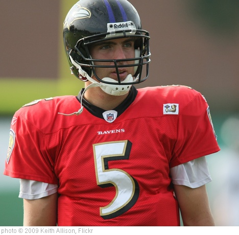 'Joe Flacco' photo (c) 2009, Keith Allison - license: http://creativecommons.org/licenses/by-sa/2.0/