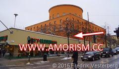 DSC05896.JPG Stadsbiblioteket Stockholm exteriör Odengatan Sveavägen med amorism
