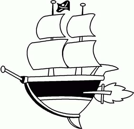dibujos para colorear barcos de vela  dibujos para colorear