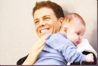 david and baby