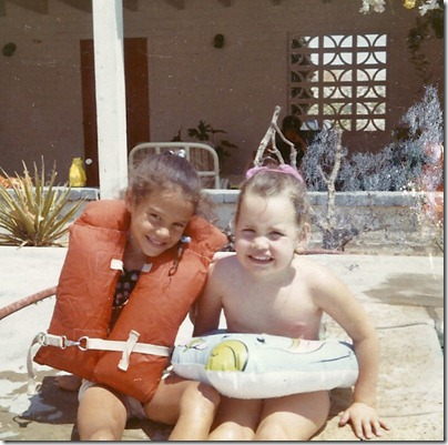 Cathy & Lisa circa 1970