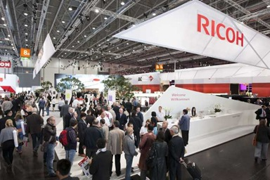 RICOH DRUPA 2012 STAND
