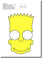 M  Scaras De Los Simpson Colorear O Color
