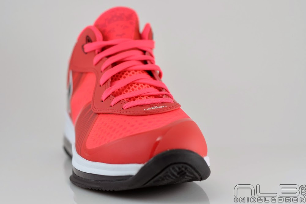 lebron 8 low red - photo #7