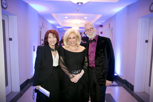 Celebrity planner Marcy Blum, Harriot Harriette Rose Katz, and the lovely David Beahm