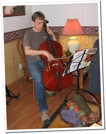 tim on cello