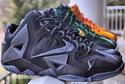 nike lebron 11 gr triple black 6 02 Does a Sellout Make Shoe a Must Have Based on LeBron 11 Blackout?