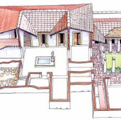 56 - Esquema constructivo de domus romana