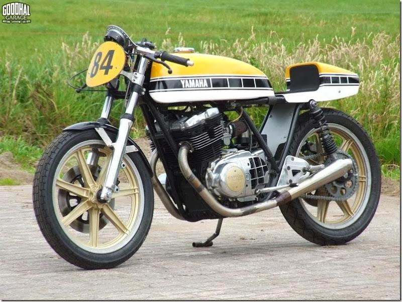 #Yamaha #XS500 #Raceike