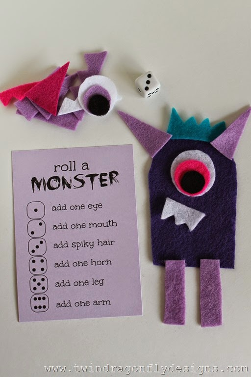 Roll a Monster Game (5)