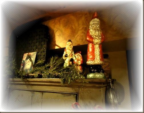 Foil Santas