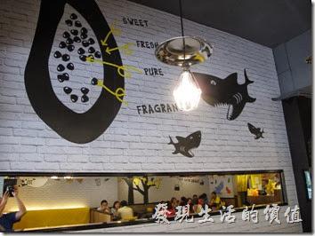 「鯊魚咬土司」台南成功店的環境。