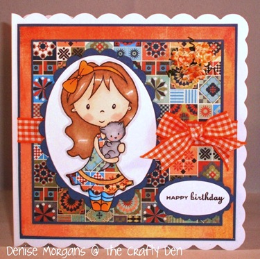 CCC challenge 158 - patchwork quilt
