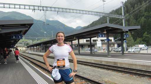 All set to take the train to the start