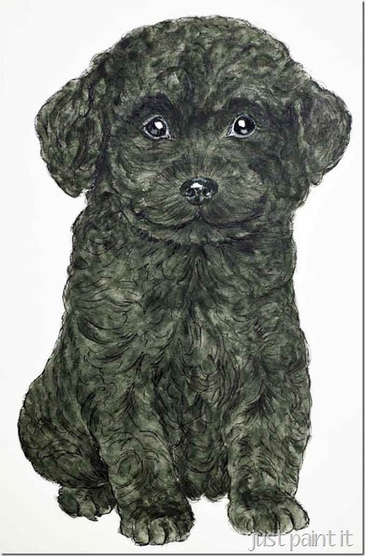 Poodle-Painting-I