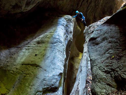 Canyon de l'Infernet, massif de la Chartreuse, à 20 minutes de Grenoble